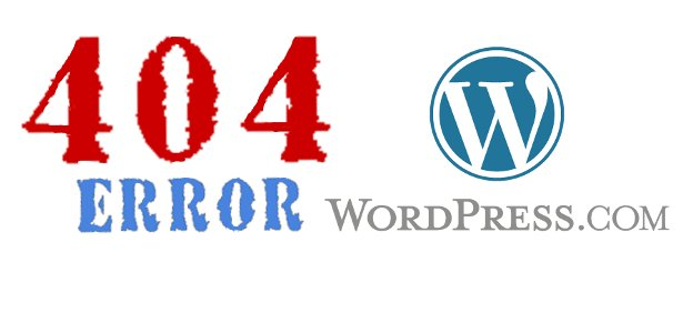 Learn how to fix the 404 errors in wordpress