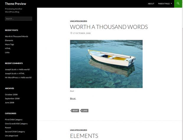 Frontend twentyfour responsive theme