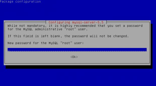 Install ymsql server 5.5