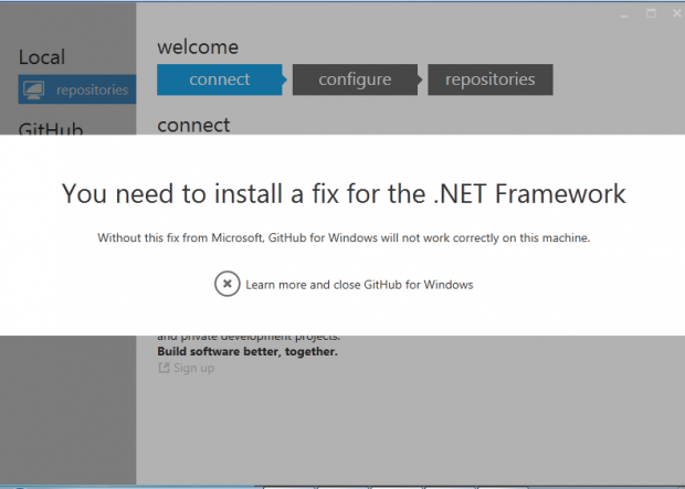 .net 4.5 framework required